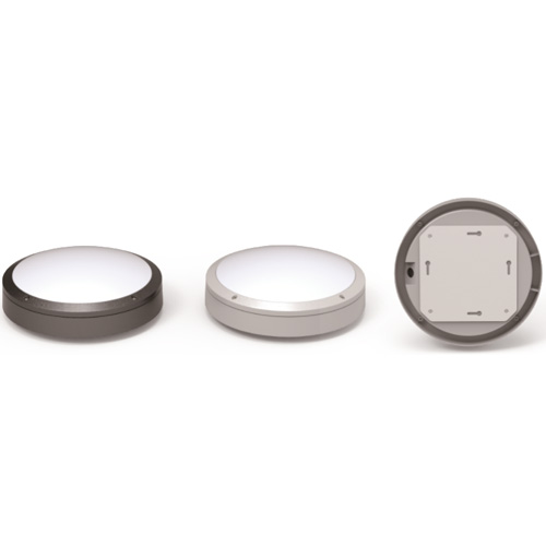 DIE-CAST LED WALL BULKHEAD, FULL MOON